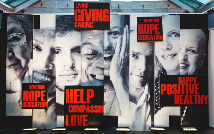 Dr Peter AIDS Foundation, 2014, Stage backdrop