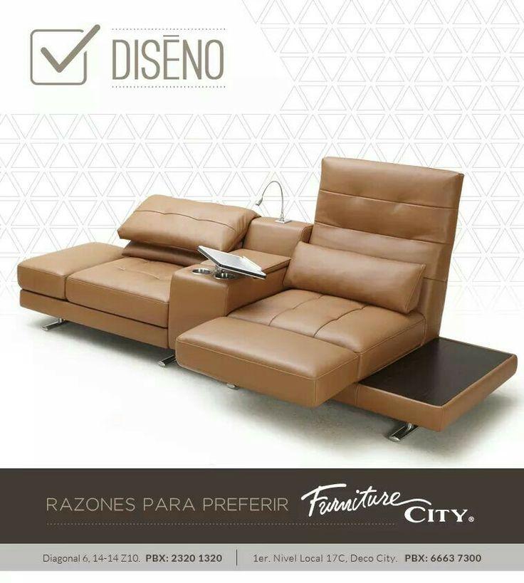 Razones para preferir Furniture City: DISEÑO Contamos con productos con diseños únicos,  con toques magnificos y especiales. Tenemos lo mejor y mas exclusivo del mercado, viva la experiencia Furniture City.