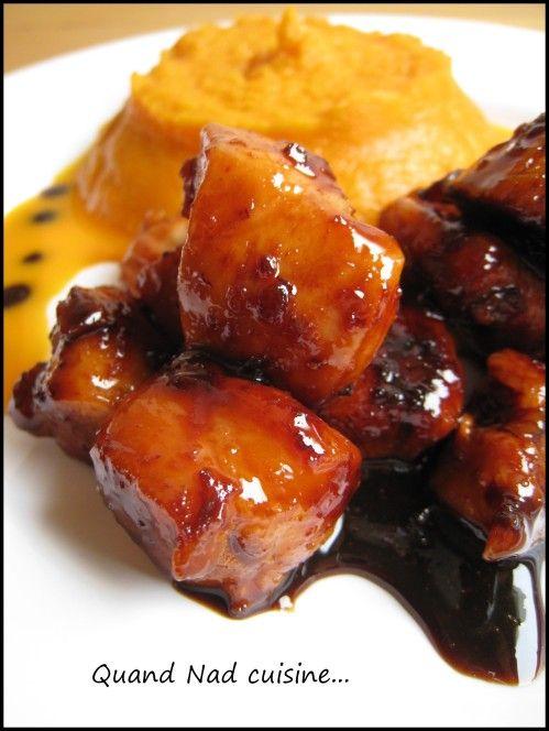 poulet caramélisé balsamique et piment1
