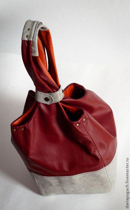 """Купить Сумка женская """"Трюфель"""" - женская сумка, сумка из натуральной кожи, натуральная кожа"""