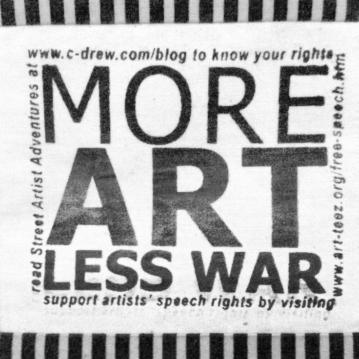 In Tribute to Christopher Drew, 1950-2012.  More Art Less War