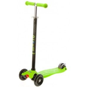 Will need one of these so they can race me... Microscooters - Maxi Micro T-Bar Lime Green #Entropywishlist #pintowin