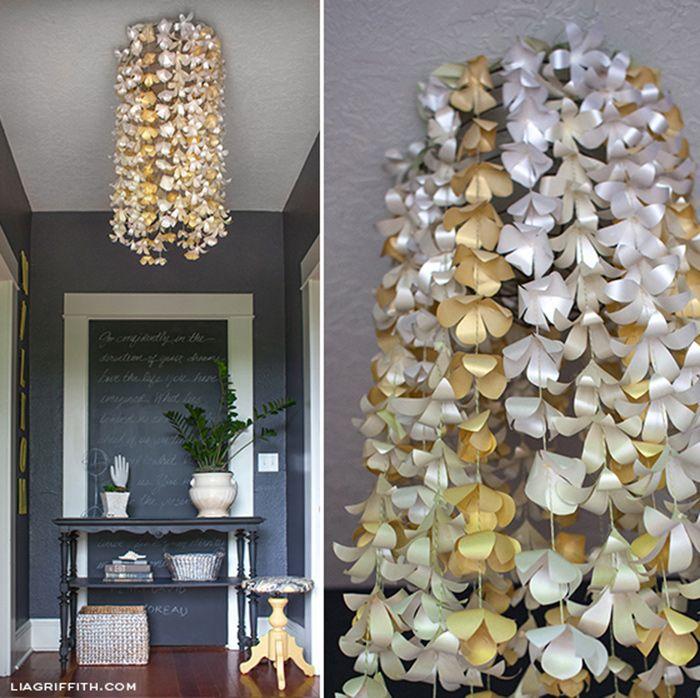 DIY Paper Flower Backdrop Tutorials