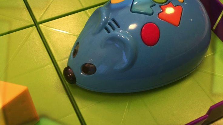 Hiirirobotti opettaa koodaamaan