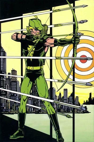 Green Arrow by George Perez