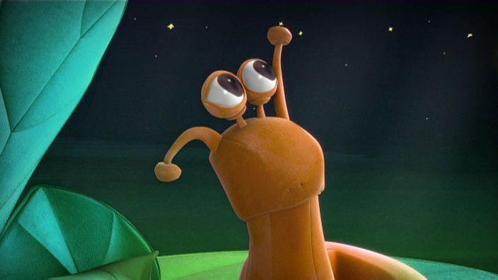 De slak is in bang in het donker! Wat nu?