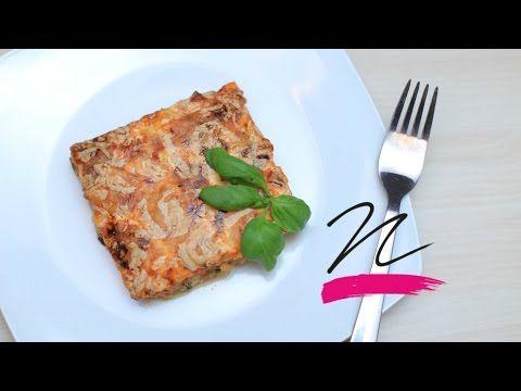 Cukkini-lasagne tészta nélkül