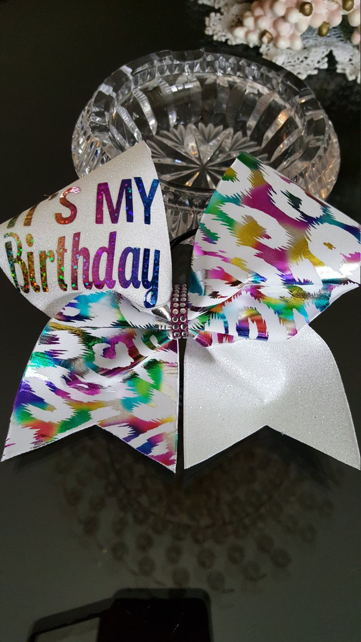 Cheer bow holder for cheer bows and hair bows cheer bow hanger - Its My Birthday Cheer Bow By Glamourbowsbyanna On Etsy Cheer Bow Holderscheer Bowsit S My Birthdayhair