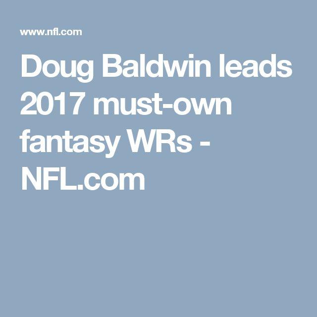 Doug Baldwin leads 2017 must-own fantasy WRs - NFL.com