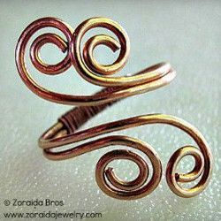 18 Amazing Wire Ring Tutorials