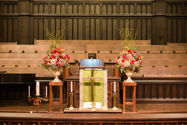 church flower arrangements for pentecost