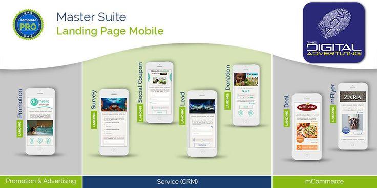 Dalla promozione, al CRM, alle transazioni via Smartphone! Con i Template Pro il progetto Landing Page Mobile diventa ancora più ricco e completo   Il Direct Mobile Marketing è cambiato, nuovamente.  To be continued... #Promotion - #Survey - #SocialCoupon - #Lead - #mFlyer - #Deal - #Donation