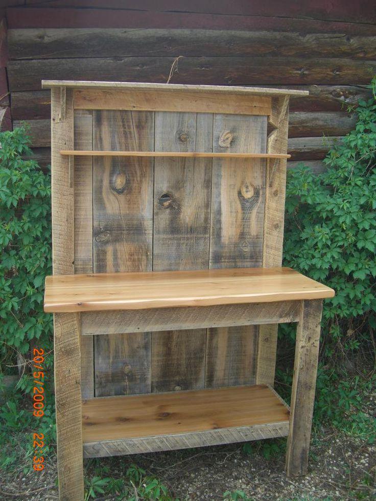 Image detail for -Reclaimed Barnwood Furniture – ASR Custom Woodworking