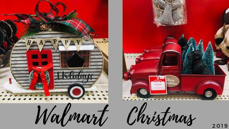 Walmart Christmas Decorations 2019 Shop with Me🎄 in 2020 ...