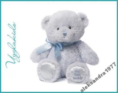 My First Teddy niebieski, Gund