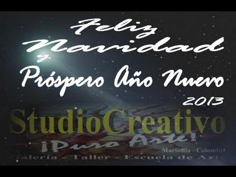 Jesús Alberto Arbeláez Arce y StudioCreativo ¡Puro Arte! les desean una Feliz Navidad 2012  y un Próspero Año Nuevo 2013