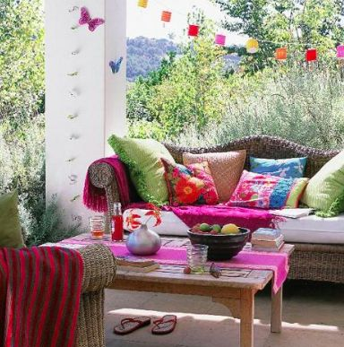 Serendipitylands: DECORACION HIPPIE CHIC - HIPPIE CHIC DECO