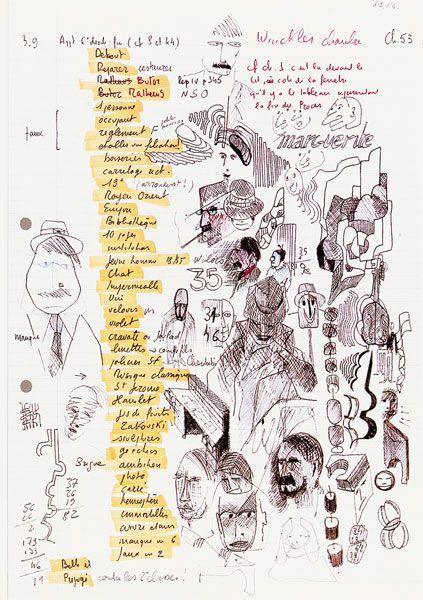 Brouillons d'écrivains : Perec - La Vie, Mode d'Emploi