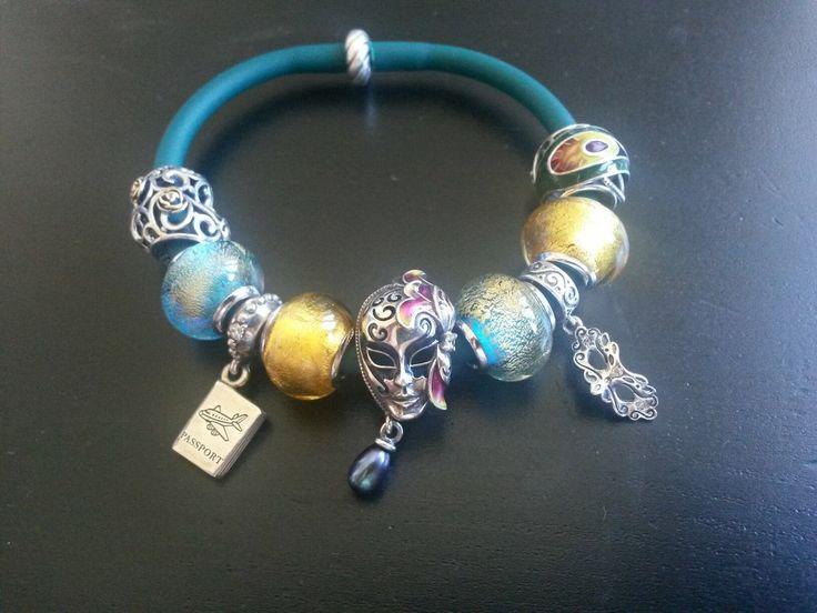 """Рубрика """"Мой первый браслет Diamare"""", чудесные фотографии от нашей покупательницы Веры Низовских."""