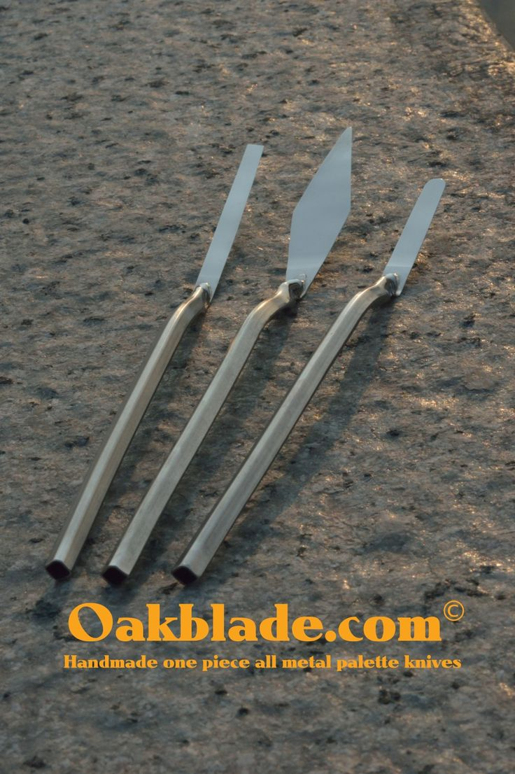 More than another mixing knife. Oakblade palette knives OAKBLADE.COM