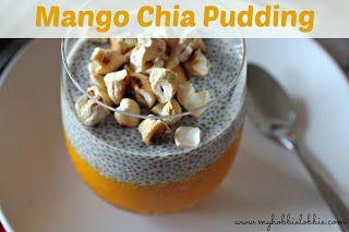 The Aspiring Home Cook: Mango Chia Pudding