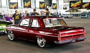 ◆ Visit MACHINE Shop Café... ◆ ~ Aussie Custom Cars & Bikes ~ Kool 1963/65 EH Holden Sedan
