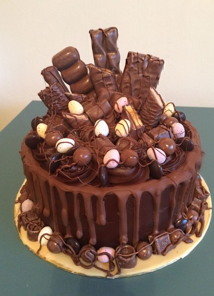 Chocolate cake | Birthday cake chocolate, Yummy cakes