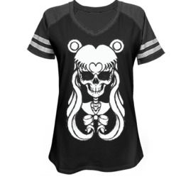 Sailor Moon Skull Game Day V Neck 138190