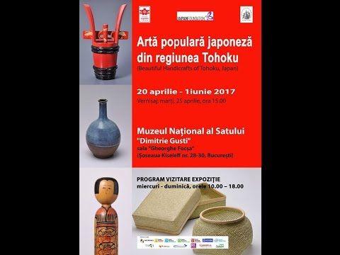 """""""Artă populară japoneză din regiunea Tohoku"""" la Muzeul Național al Satului """"Dimitrie Gusti"""" - JurnalulBucurestiului.Ro"""