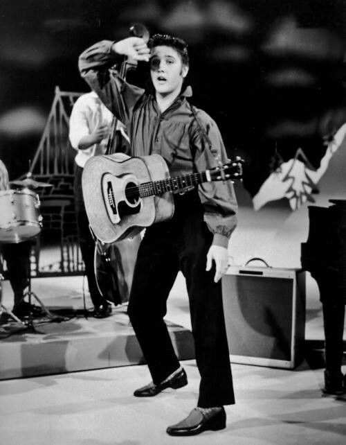 "Elvis - Ed Sullivan Show. Despite the fact that Ed Sullivan declared Elvis Presley ""unfit for family viewing,"" the variety show host couldn't resist high TV ratings. He booked Presley for three appearances — the first of which was viewed by more than one-third of the U.S. population. When the show was over, Elvis Presley's place in rock 'n' roll history was secured."