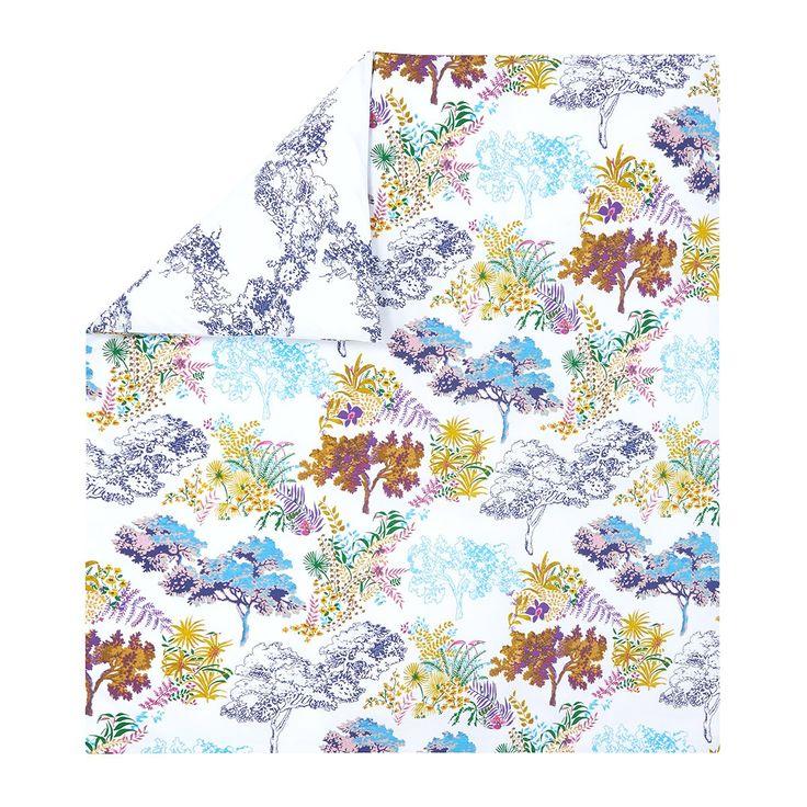 Duvet cover Paysage Multicoloured