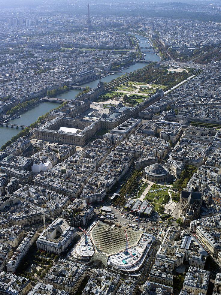 Paris vue de haut