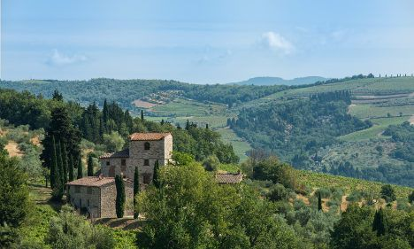 Live like Michelangelo: Artist's Tuscan villa is up for sale - The Local