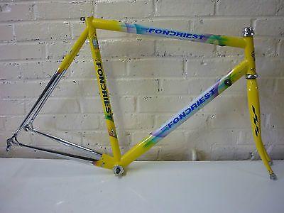 cadre vélo acier Fondriest 54,5 cm poids 3kg200 / steel bike frame