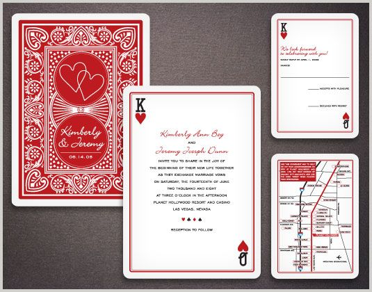 Super creative wedding invitations!