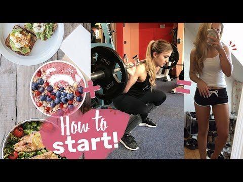 Start in den Fitness Lifestyle | Komplettes Training + Rezept! - YouTube