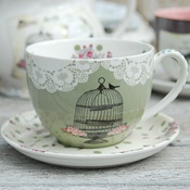 Pretty lacey teacup