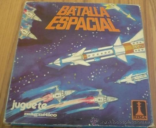 Batalla Espacial Juego Magnetico Rima Ref 2043 Completo