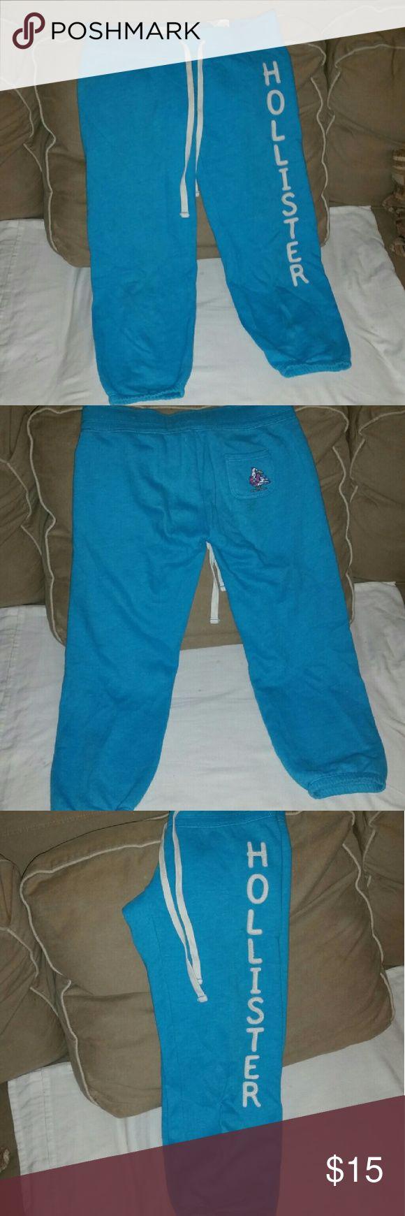 Ladies joggers Good condition Hollister  Pants Track Pants & Joggers