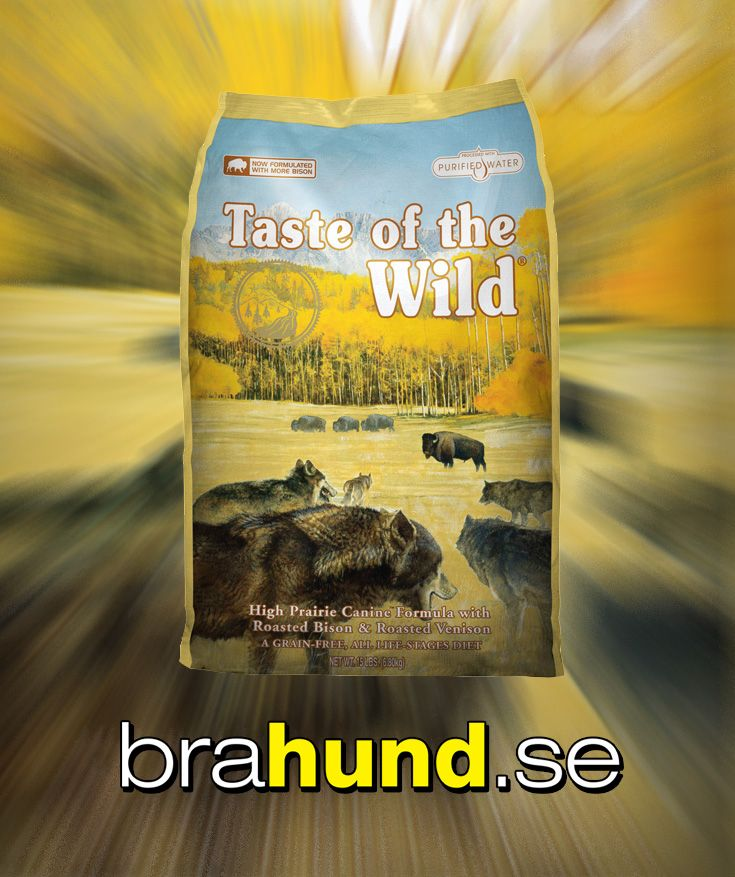High Prairie är en formula med brynt bison- och viltkött, som erbjuder en smakupplevelse som ingen annat. Fodret innehåller även sötpotatis och ärtor som ger mycket lättsmält energi för din aktiva hund. Fodret är kompletterat med frukt och grönsaker,