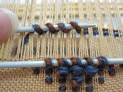 weaving pile