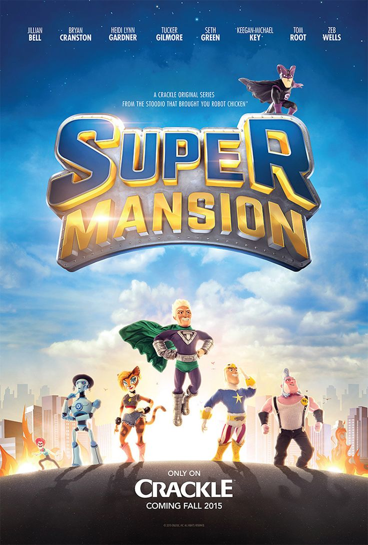 'SuperMansion', An Animated Comedy TV Show Starring Bryan Cranston as an Aging Superhero