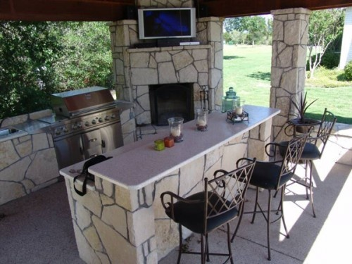 Ideas For Back Yard Bbq Configuration For The Home