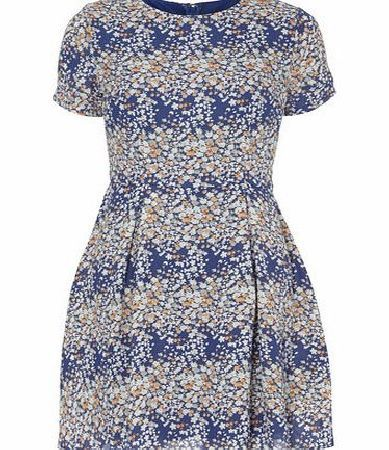 Dorothy Perkins Womens Poppy Lux Blue Multi Coloured Tea Dress- Blue multi coloured tea dress with cap sleeves and a loose fit. Length 88cm. 100% Polyester. Cold hand wash with similar colours. Iron inside out. Do not bleach. Do not tumble dry. http://www.comparestoreprices.co.uk/womens-shoes/dorothy-perkins-womens-poppy-lux-blue-multi-coloured-tea-dress-.asp
