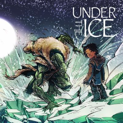 During a very bad winter, an old woman wishes that the qallupalui, strange monstrous creatures who live under the ice, will take away her orphaned grandson. Traditional story. Gr.1-3