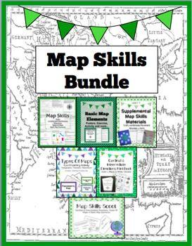 map skills worksheets and cardinals on pinterest. Black Bedroom Furniture Sets. Home Design Ideas