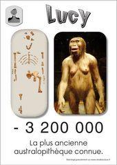Lucy, plus ancienne australopithèque connue