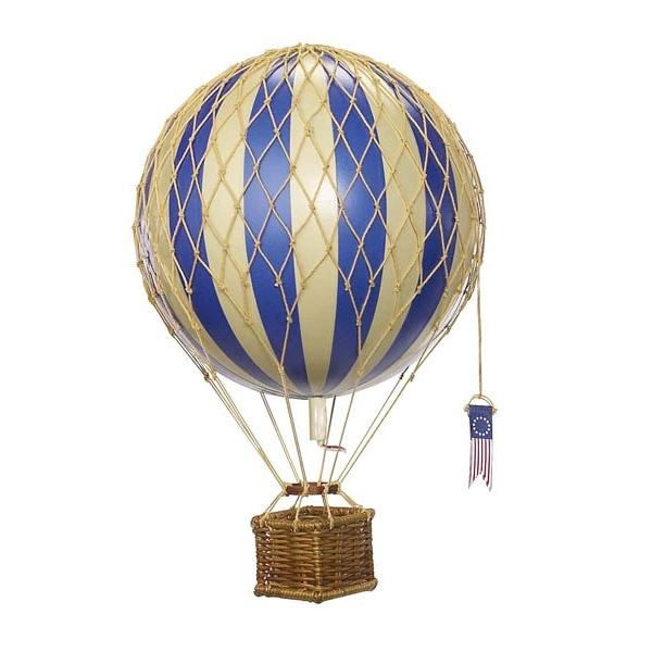 Light Blue Hot Air Balloon Model