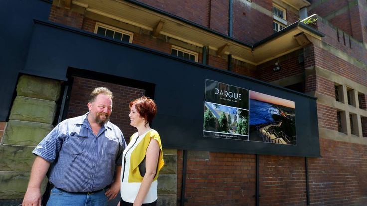 Siblings Bernadette and Daniel Connolly are building apartments in two key Newcastle locations aimed at both high-end buyers and first-home buyers.