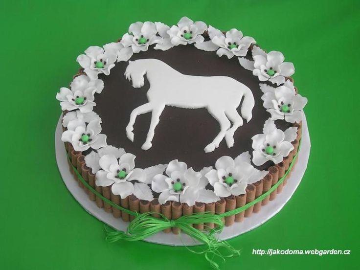 Chocolate Horse Cake